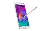 Samsung Galaxy Note 4 / Octa Core ( Quad-core 1.3 GHz Cortex-A53 & Quad-core 1.9 GHz ) / 32 GB / 5.7 Inch ( White )