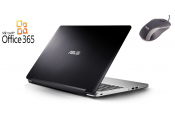 Asus TP500LN-CJ142D Silver + Office 365+Mouse / 500 GB