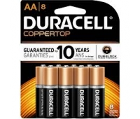 Duracell MN1500/8 Battery Pack Of 8 Alkaline (AA) Power Plus(23-09334)