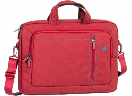 RivaCase 7530 Red Laptop Canvas Bag 15.6