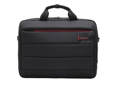 Best Life BBC-3335BK Laptop Carry Case With USB & Type-C Connector