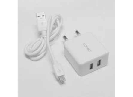 ICONZ IWCR224W Wall Charger Kit Micro White