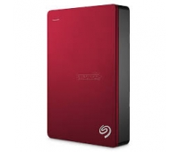 Seagate STDR5000203 Backup Plus Portable 5TB External HDD Red