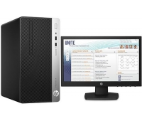 HP ProDesk 400 G5 Intel Core i5 8500 8th + HP V197 18.5 Monitor