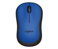Logitech 910-004879  Wireless Silent Mouse M220 Blue  EMEA