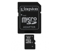 Kingston 8GB Micro SDHC Class 4 Memory Card