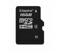 Kingston 16GB Micro SDHC Class 4 Memory Card