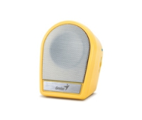 Genius 31730990101 SP-i177 Speaker Yellow
