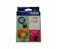 Brother LC-673 Magenta Ink