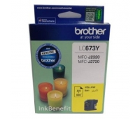 Brother LC-673 Yellow Ink