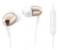 Philips SHE3905GD/00 In-ear Headphone with mic Gold