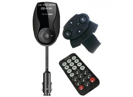 RadioShack B-228N Car FM Transmitter With Steering Remote Control