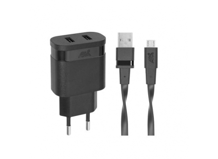 RIVAPOWER VA4122 Wall Charger Black