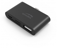 SpeedLink SL-180016-BK PLECA USB-C 5-in-1 Card Reader