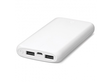 Ttec 8694470643656 Power Bank Universal Mobile Charger White