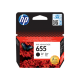 HP 655 Black Ink Cartridges