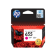 HP 655 MAGENTA INK CARTRIDGE,CZ111AE