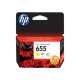 HP 655 YELLOW INK CARTRIDGE,CZ112AE