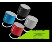 ICONZ IBSPK1R Mini Bluetooth Speaker Red