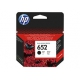 HP 652 Black Original Ink Advantage Cartridge كارتريدج حبر اتش بي