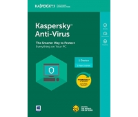 Kaspersky AV-1+1 Anti Virus Media & License