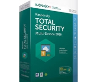 Kaspersky Total Security 2016- Multi Device Three Users Only (Windows, Mac, Android )/License