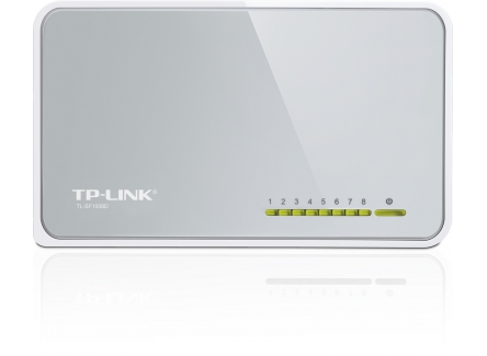 TP-LINK TL-SF1008D, 8-Ports 10/100Mbps Desktop Switch