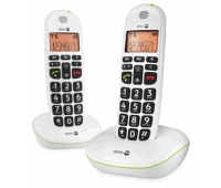 Doro PE100WDUOWHT EASY TO USE DUO CORDLESS PHONE+AMPLIFIED S